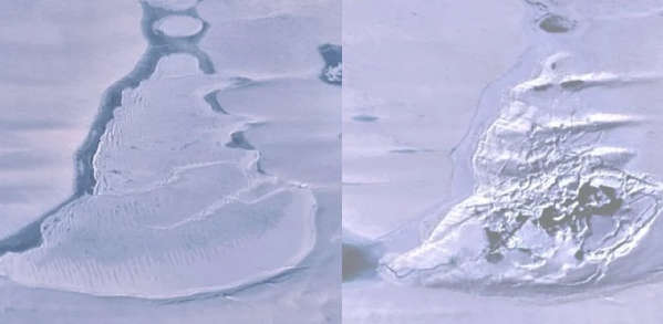 More in Antarctica suddenly disappears