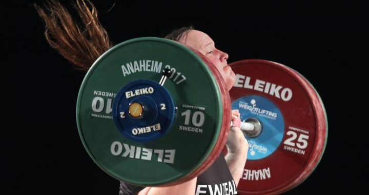New Zealand weightlifter becomes first transgender athlete at Games