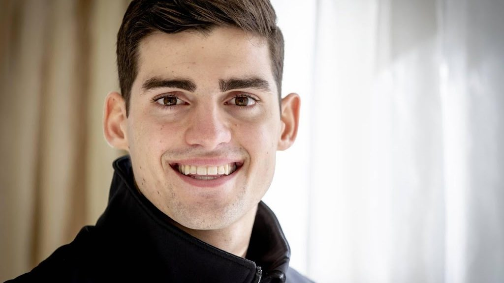 Racing driver Van Kalmthout second at the Detroit Grand Prix