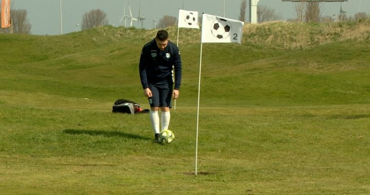 Sports golf seeks a younger and more diverse audience with football golf