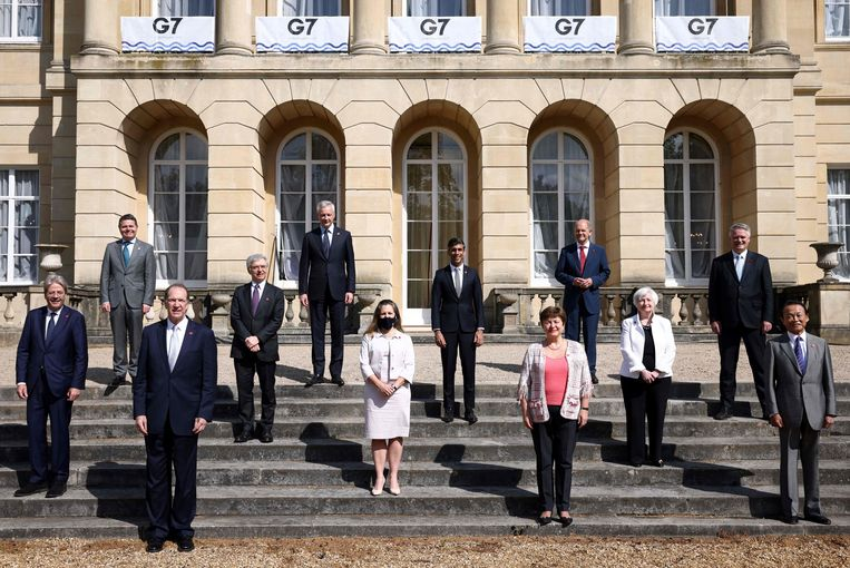 """The G7 concludes a """"historic deal"""" against the multinationals of tax evasion"""