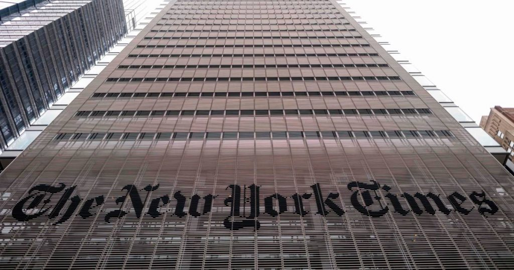 The New York Times Collected Call Data from Justice Correspondents Under Trump  Abroad