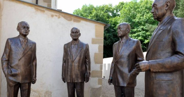 The Pope initiates the canonization of Robert Schuman, co-founder of the EU
