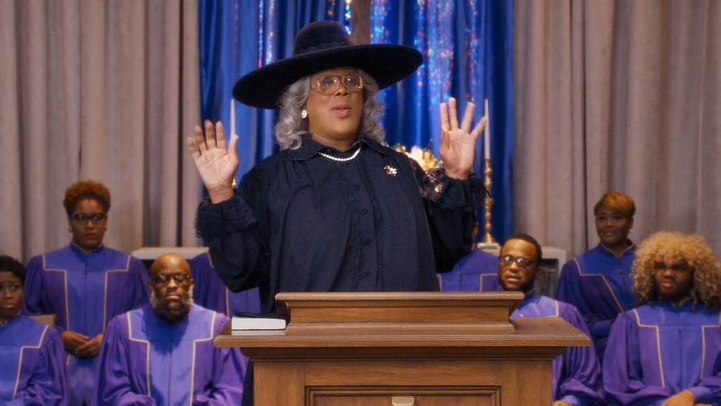 Typing Perry continues with Madea anyway;  announces twelfth film for Netflix