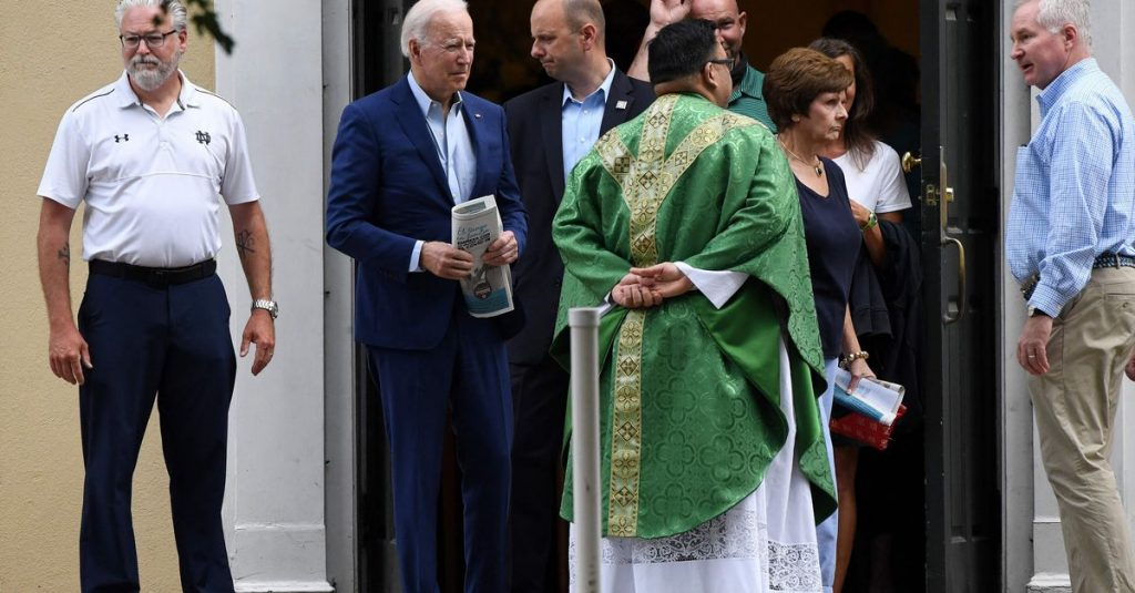 U.S. bishops want President Biden to stop receiving wafers