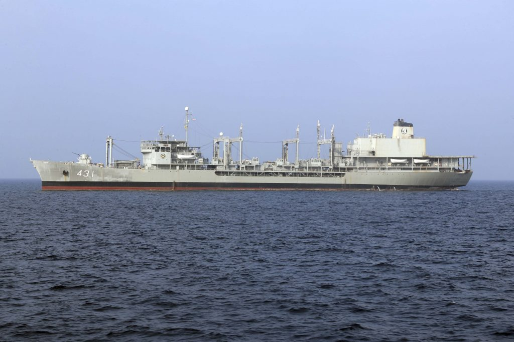 US warns of arms deal, Iranian warships likely to land their first Atlantic fleet
