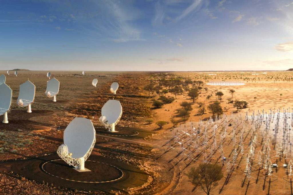 green light for the construction of the world's largest radio telescope