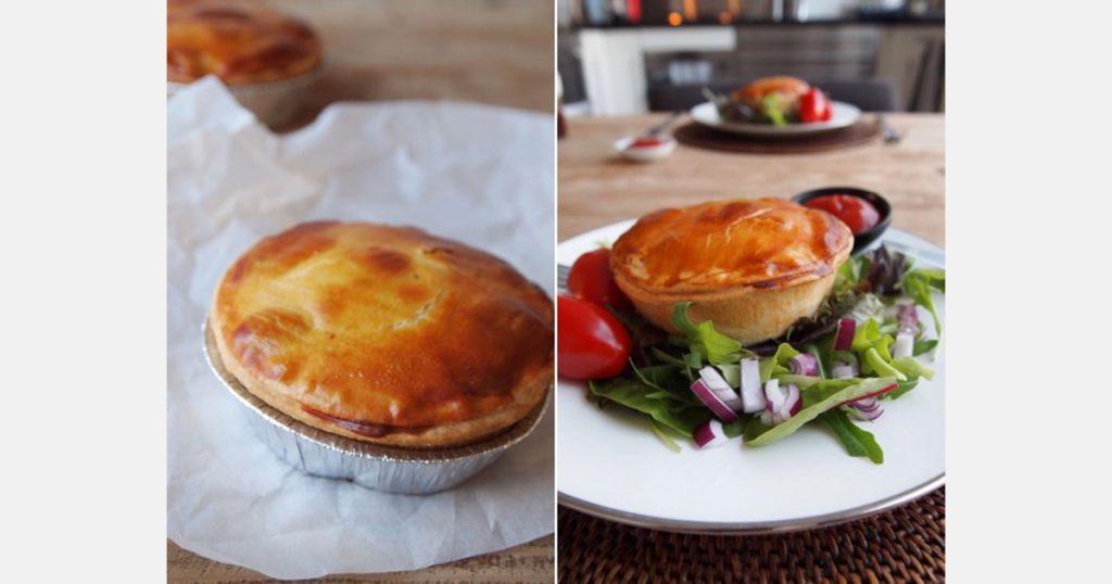 Three new organic pies