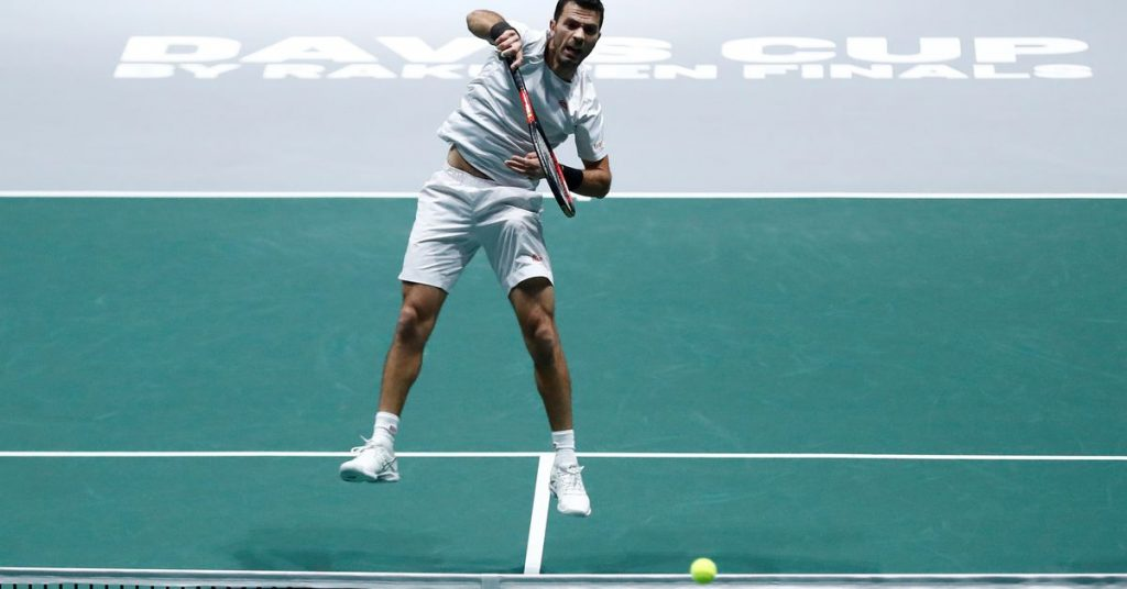 Dutch two-time tennis player Roger tested positive for COVID-19