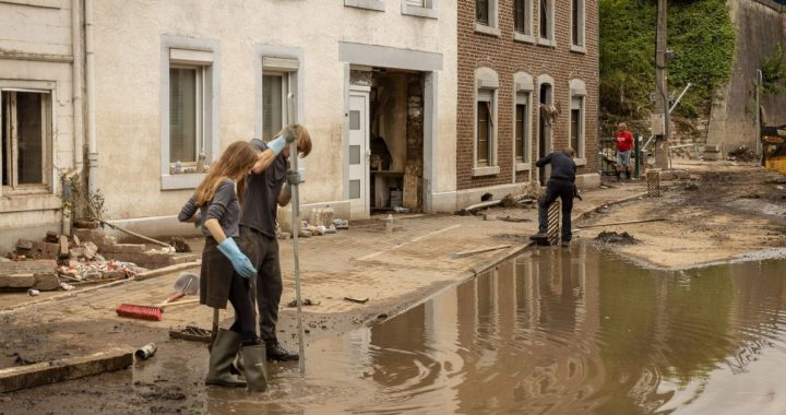 """After the flood: """"We must also make room for water in the cities"""""""
