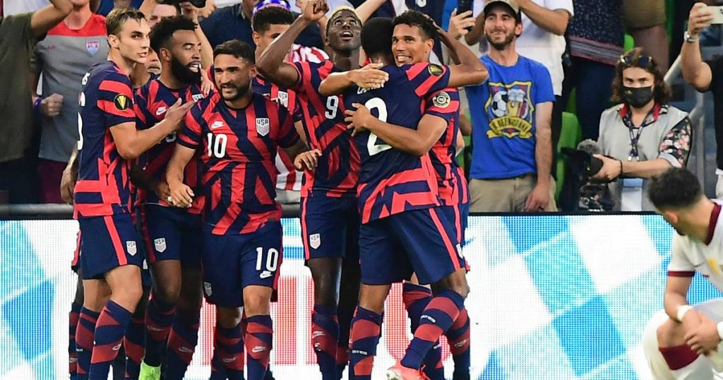 America and Mexico advance to Gold Cup final |  Foreign football