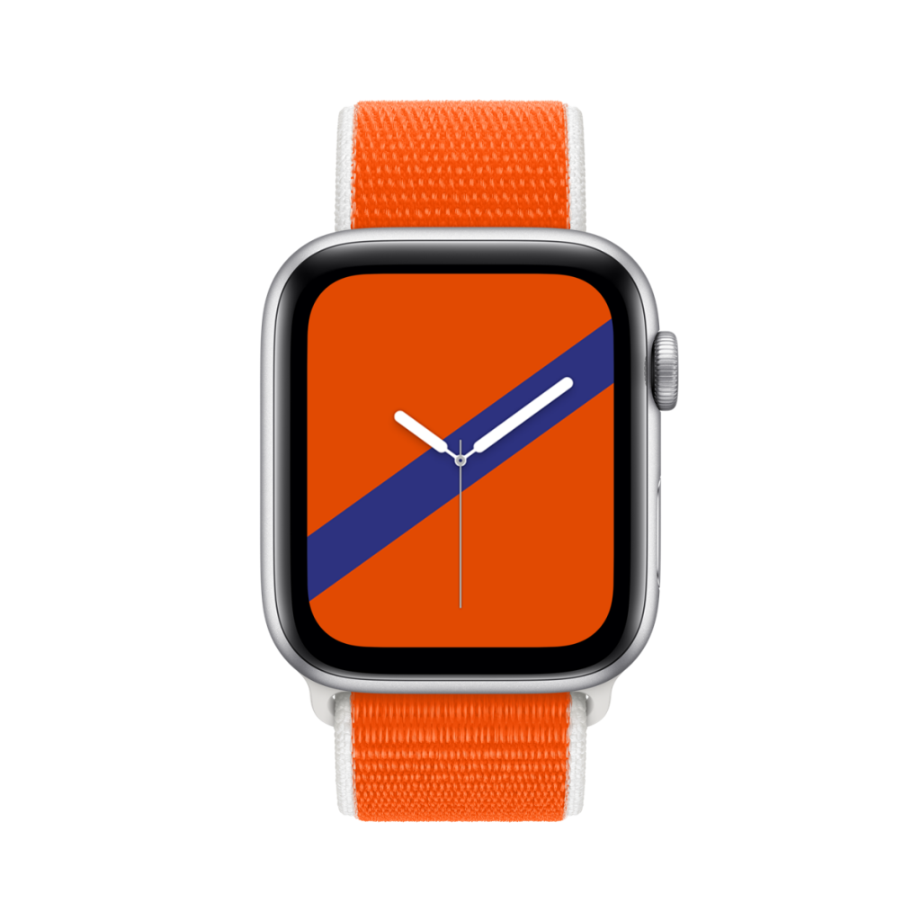 Another touch of orange fever: Apple launches the Apple Watch International Collection