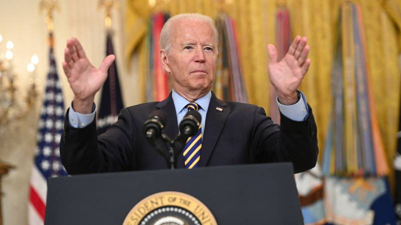 """Biden defends accelerated retirement: """"Afghans must now do it themselves"""""""