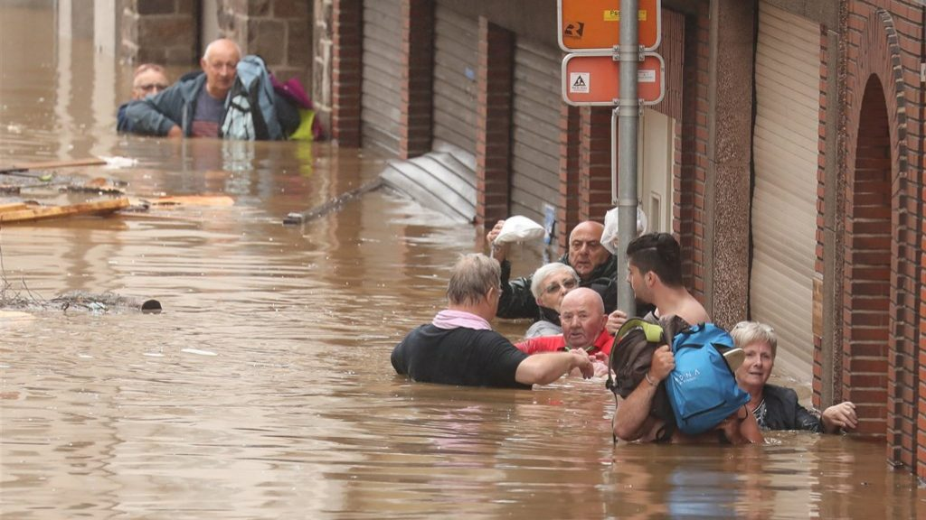 """""""Catastrophic situation"""" in Belgium due to extreme rainfall: six dead"""