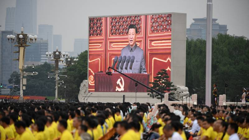 "China celebrates 100 years of Communist Party, Xi warns ""bullies"""
