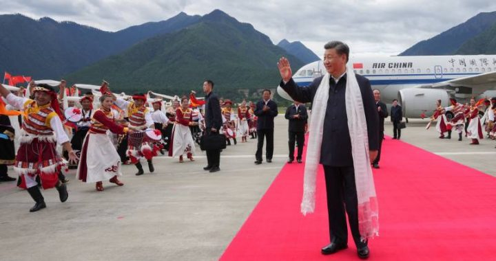 Extraordinary visit of Chinese President Xi to Tibet