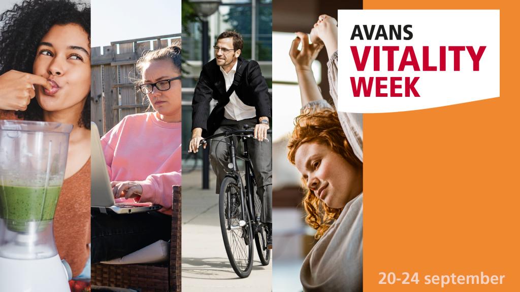 Feel more vital with Avans Vitality Week