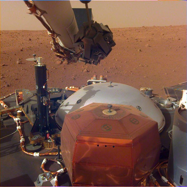 First: robotic seismologist InSight reveals deep secrets of Mars