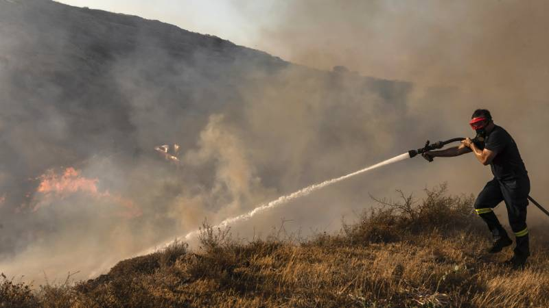 """Forest fires in Cyprus: """"We are very afraid that the wind will change tonight"""""""