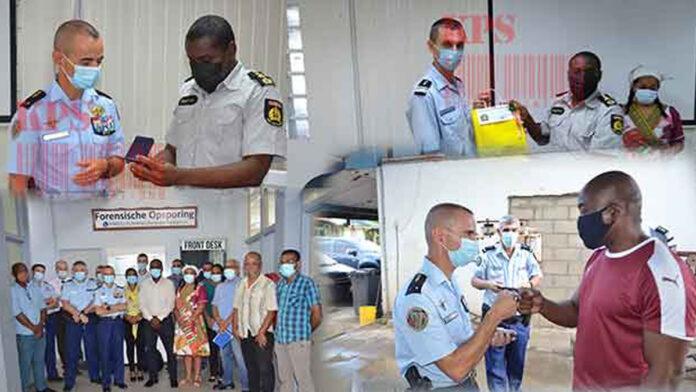 French gendarmerie delegation visits Suriname police