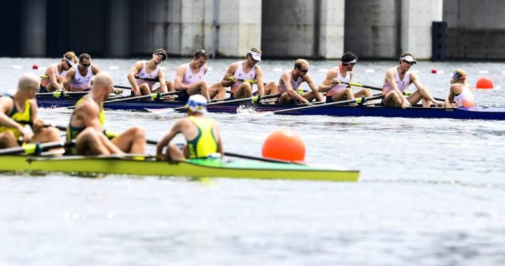 Holland Eight rowers just fifth in Tokyo Olympic final