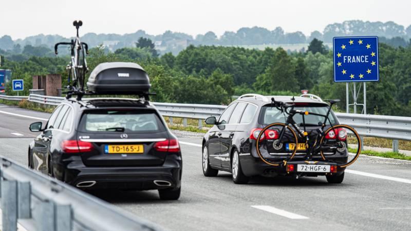 It's black Saturday: morning crowds on European roads