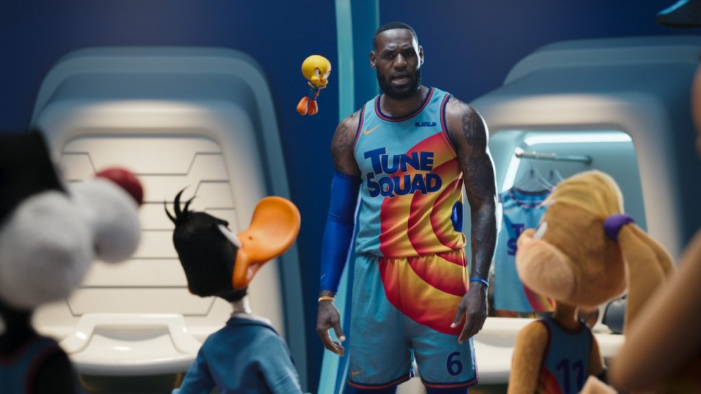 LeBron James gently takes on 'Space Jam: A New Legacy' enemies