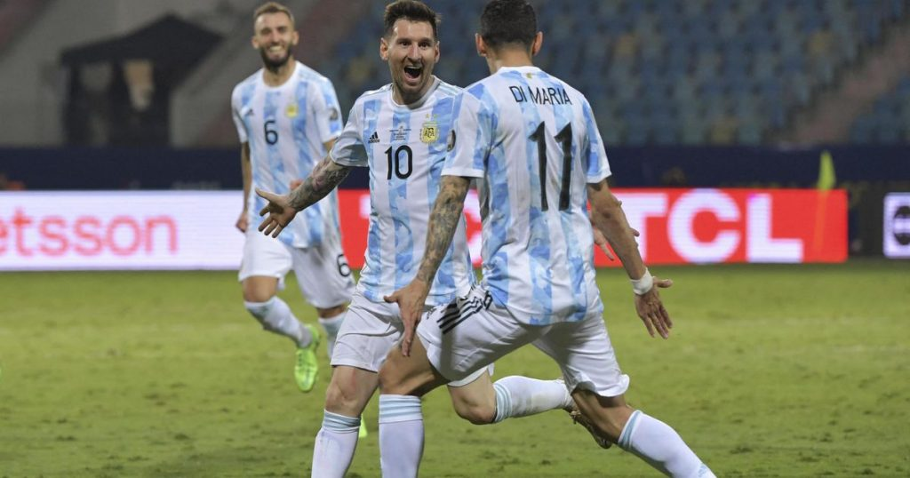 Lionel Messi unstoppable at the Copa America |  Football