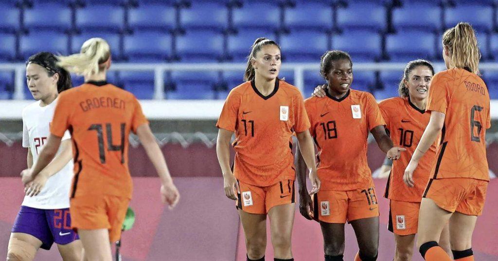 Orange awaits Olympic squatter against United States after third consecutive goal    Football