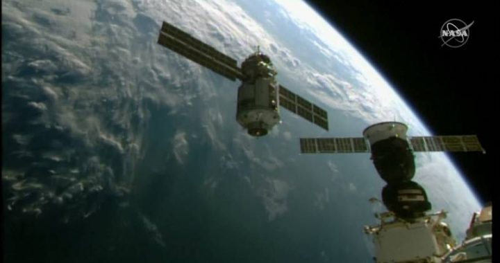 """Russian module with European robotic arm linked to the ISS: """"It was exciting"""""""