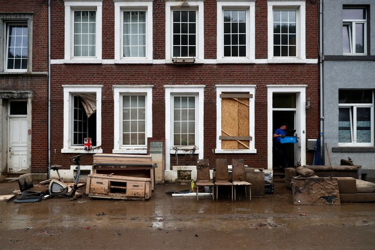 Severe thunderstorms once again cause flooding in Belgium;  also nuisance in North Brabant and Zeeland