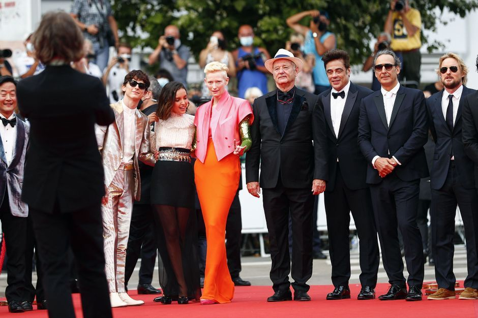 """""""The French Dispatch"""" lights up Cannes"""