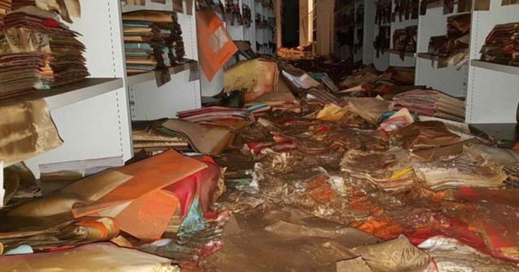 To help!  Belgian archives in danger after floods, mold explosion in unique books |  Abroad