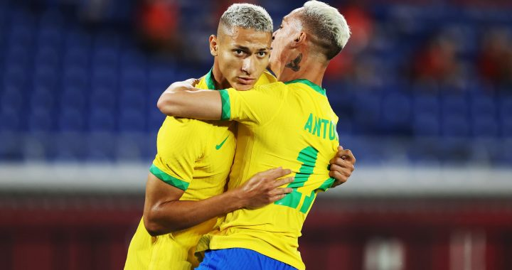 Tokyo 2020 |  Brazil's national football team need half-time against Germany
