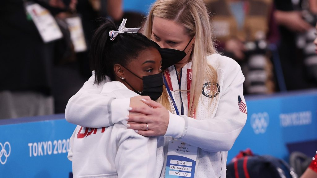 Tokyo 2020    Russia win gymnastics team final after Biles retires