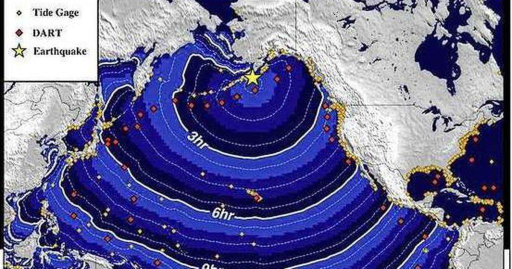 Tsunami warning after 8.2 earthquake near Alaska |  Abroad