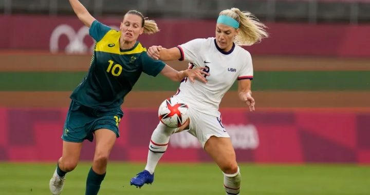 USWNT, Australia 0-0 draw;  USA and Netherlands in the quarterfinals