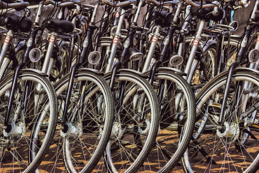 Weesp gives more space for parking bicycles