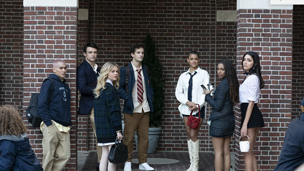 XOXO: new Gossip Girl images are now visible
