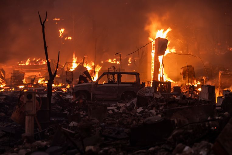 Greenville almost ignited last week.  Image Getty Images