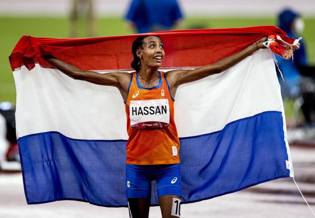 """Hi Sifan Hassan in Arnhem!  """
