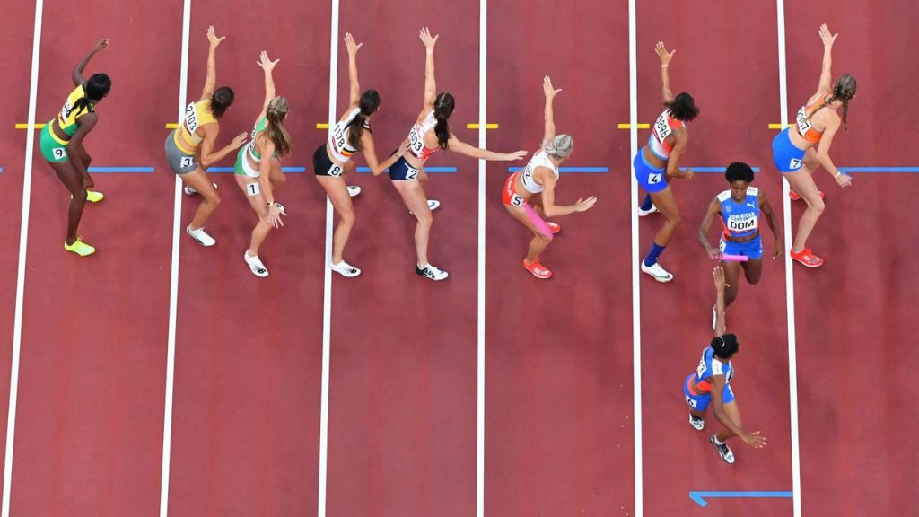 Belgium and the Netherlands were rejected by the Court of Arbitration for Sport, demanding a mixed result of 4x400m.  to keep