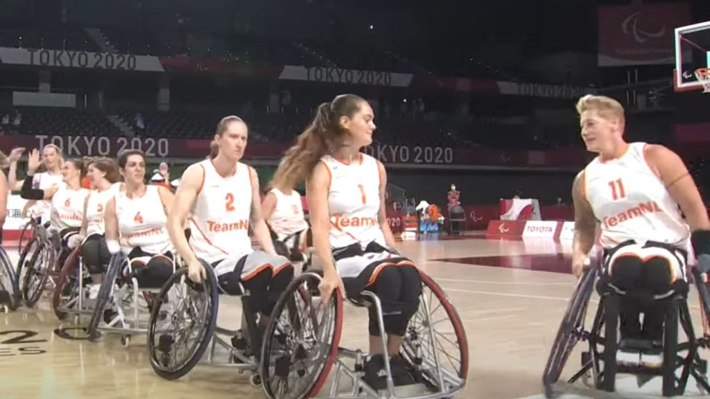 Cher Korver kicks off Paralympic basketball with a win