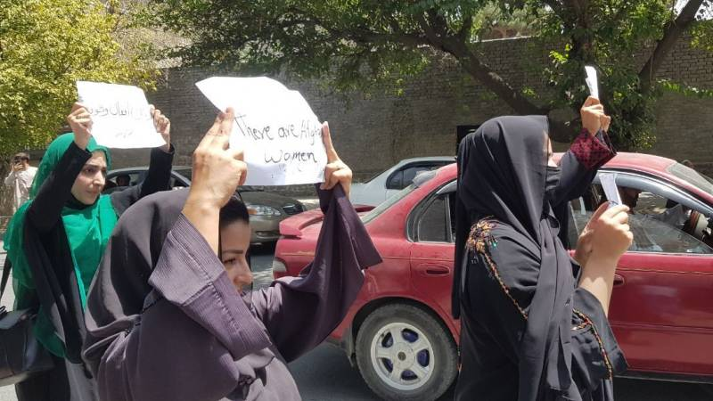 Afghan women fear for the future, but are also combative
