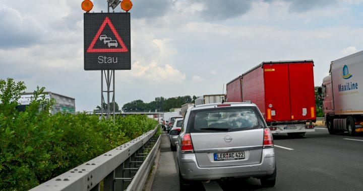 'Black Saturday light': busy again on European roads