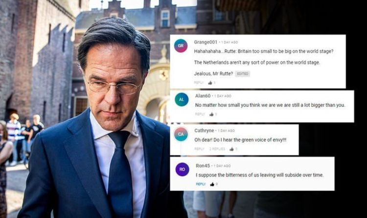 Brexit News: Dutch PM criticizes 'small' Britain's fall after Brexit |  Politics