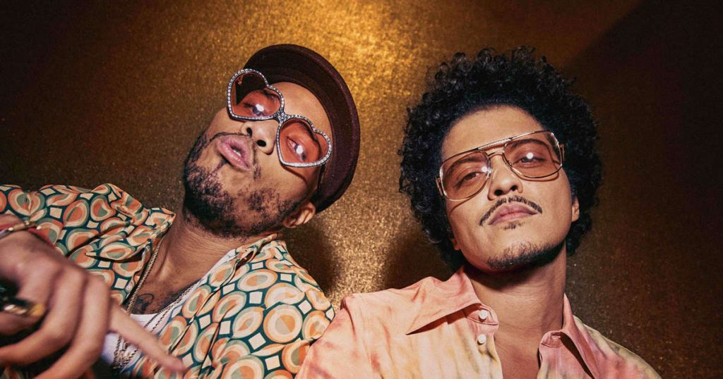 Bruno Mars and Anderson .Paak to release Silk Sonic album in January 2022