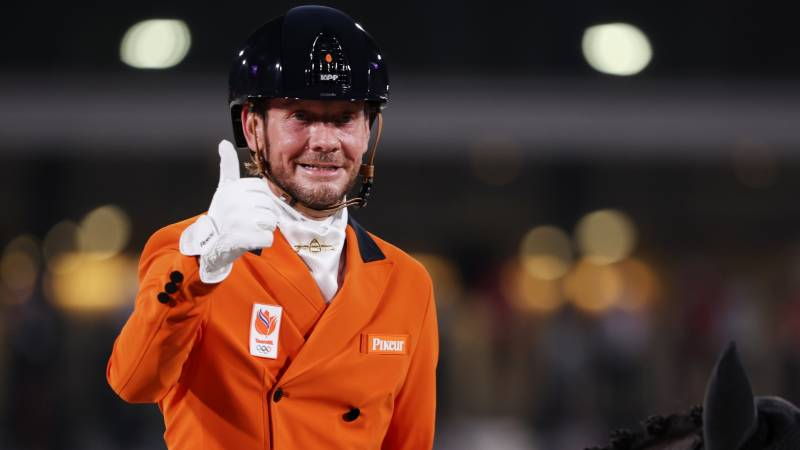 Dressage team fifth in country final after spectacular Gal final stage