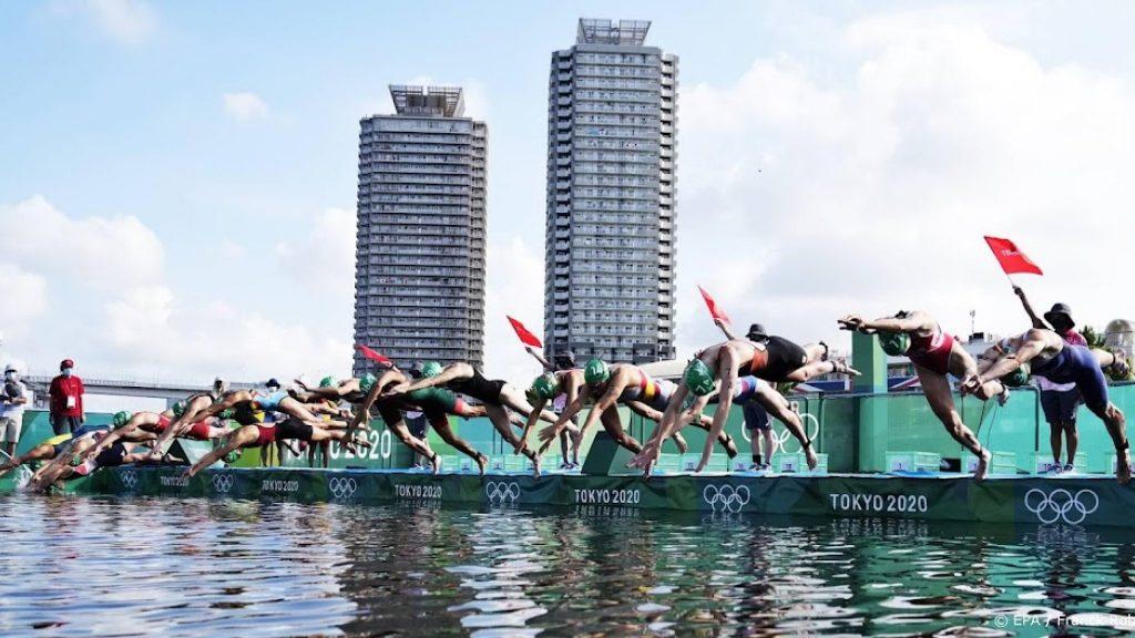 Dutch triathlon team finished fourth at the Games