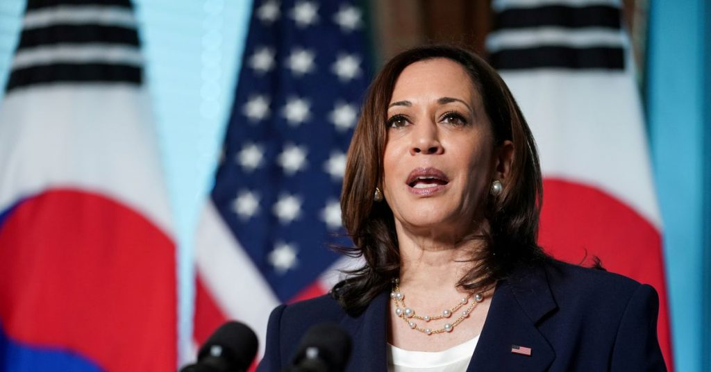 Harris responds to China's claims in the South China Sea during a trip to Asia
